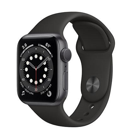 Apple Watch Series 6, 44mm, корпус из алюминия цвета «серый космос»
