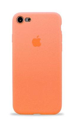 Slim case 360 на iPhone 7/8, цвет персиковый