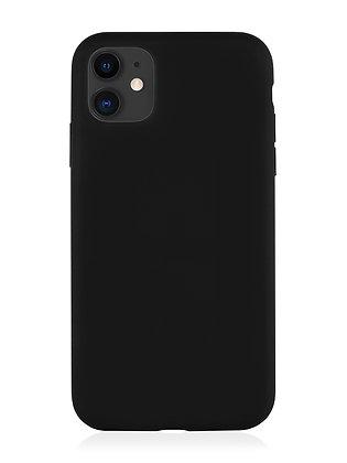Силиконовой чехол VLP для iPhone 11, чёрный
