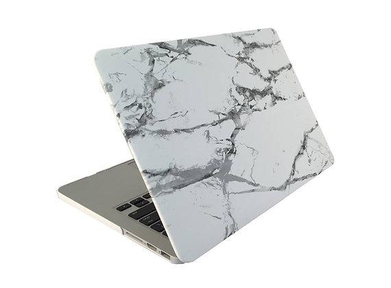 """Матовый чехол HardShell Case для Macbook Air 13"""" белый мрамор"""