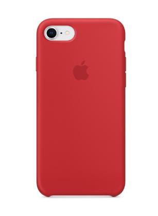 Силиконовый чехол для iPhone 8/7, (PRODUCT)RED