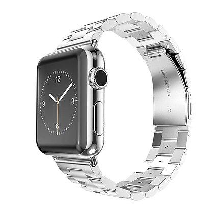 Металлический ремешок для Apple Watch 42/44 mm, серебристый