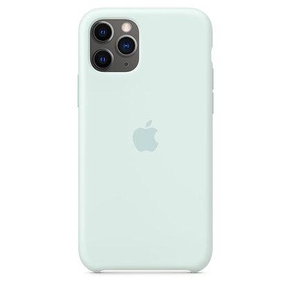 Силиконовый чехол для iPhone 11 Pro Max, цвет «морская пена»