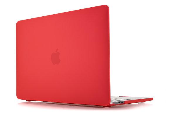 """Чехол VLP Plastic Case для MacBook Pro 15"""" с и без Touch Bar, красный"""