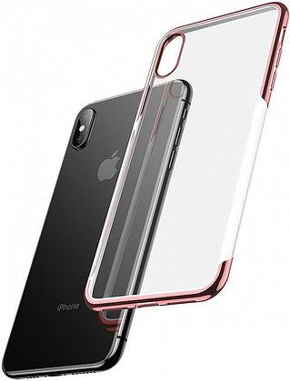 Чехол для iPhone XS/X Baseus Shining Case (Rose Gold)