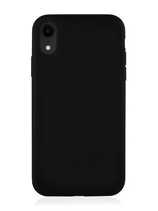 Силиконовой чехол VLP для iPhone XR, чёрный