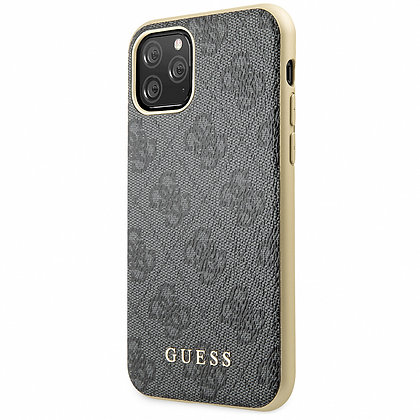 Чехол Guess 4G Сollection для iPhone 11 Pro Max серый