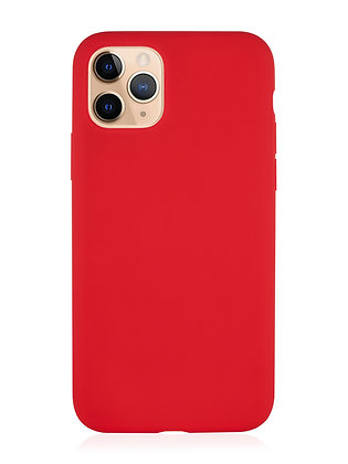 Силиконовой чехол VLP для iPhone 11 Pro, красный