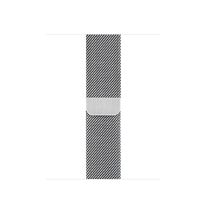 Миланский сетчатый браслет 42/44 mm (Серебристого цвета)