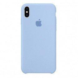 Силиконовый чехол для iPhone XS Max, лиловый