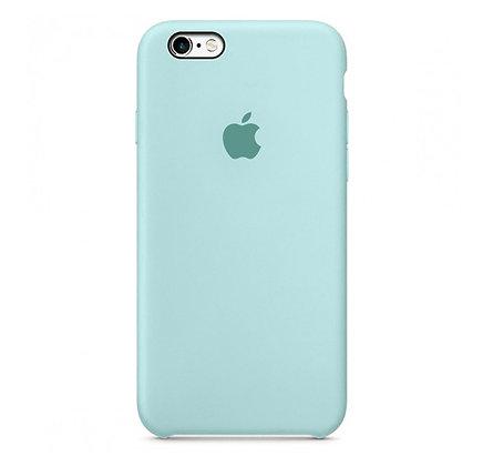 Силиконовый чехол для iPhone 6/6s, цвет морской зелёный