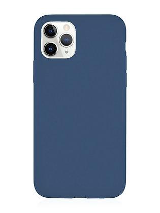 Силиконовой чехол VLP для iPhone 11 Pro, тёмно-синий