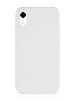 Силиконовой чехол VLP для iPhone XR, белый