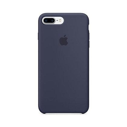 Силиконовый чехол для iPhone 8 Plus/7 Plus, цвет темно-синий