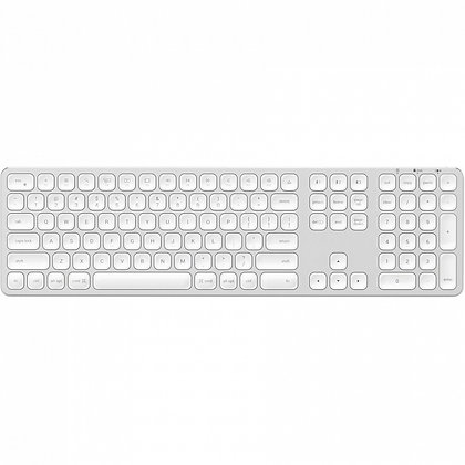 Беспроводная клавиатура Satechi Aluminum Bluetooth Wireless Silver (ST-AMBKS-RU)