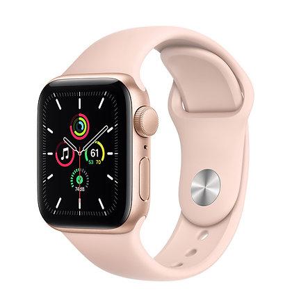 Apple Watch SE, 44mm, корпус из алюминия золотого цвета