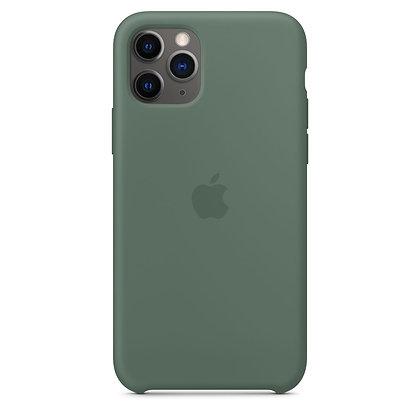 Силиконовый чехол для iPhone 11 Pro, цвет «сосновый лес»