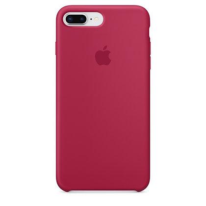 Силиконовый чехол для iPhone 8 Plus/7 Plus, цвет красная роза