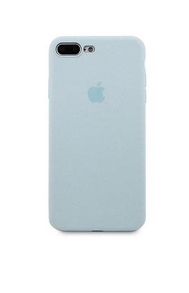 Slim case 360 на iPhone 7 Plus/8 Plus, цвет голубой