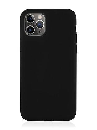 Силиконовой чехол VLP для iPhone 11 Pro, чёрный