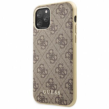 Чехол Guess 4G Сollection для iPhone 11 Pro Max коричневый