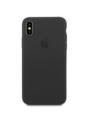 Slim case 360 на iPhone XS Max, цвет черный