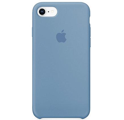 Силиконовый чехол для iPhone 8 / 7, цвет васильковый