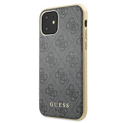 Чехол Guess 4G Сollection для iPhone 11 серый