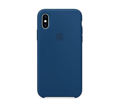 Силиконовый чехол для iPhone XR, цвет «морской горизонт»