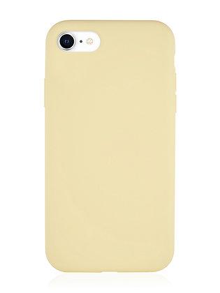 Силиконовой чехол VLP для iPhone SE (2020)/8/7, жёлтый