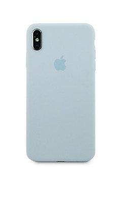 Slim case 360 на iPhone XS Max, цвет светло голубой