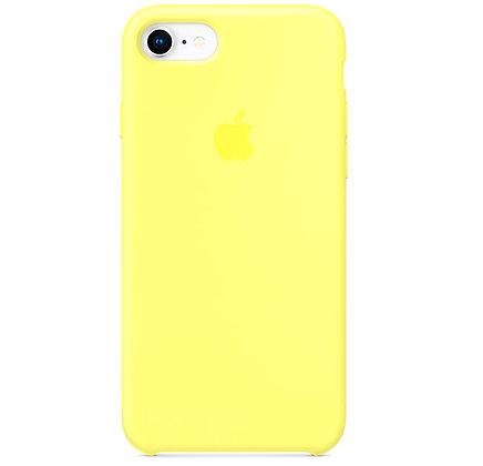 Силиконовый чехол для iPhone 8 / 7, цвет лимонный пирог