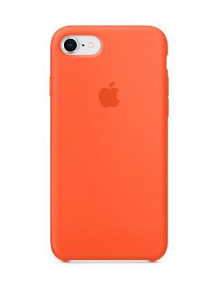 Силиконовый чехол для iPhone 8/7, цвет «спелый нектарин»