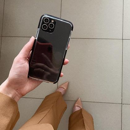 """Силиконовый чехол """"Лёд"""" на iPhone 11 Pro (Черный)"""