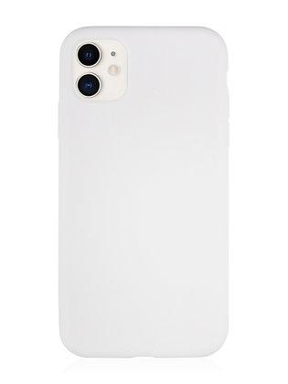 Силиконовой чехол VLP для iPhone 11, белый
