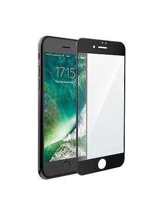 Высокопрочное защитное стекло 5D для iPhone 8 Plus / 7 Plus с черным кантом