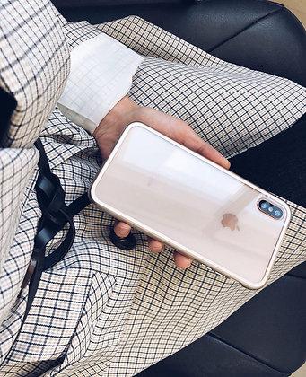 Магнитный чехол для iPhone XSMax, Gold