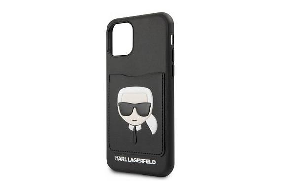 Чехол Karl Lagerfeld PU Leather with cardslot Karl для iPhone 11 Pro Max,черный