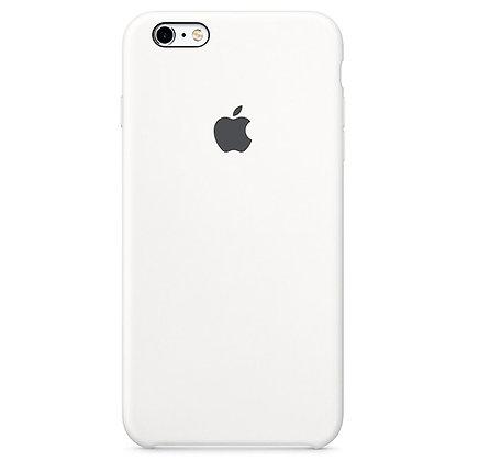 Силиконовый чехол для iPhone 6/6s, цвет белый