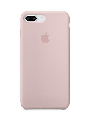 Силиконовый чехол для iPhone 8 Plus/7 Plus, цвет «розовый