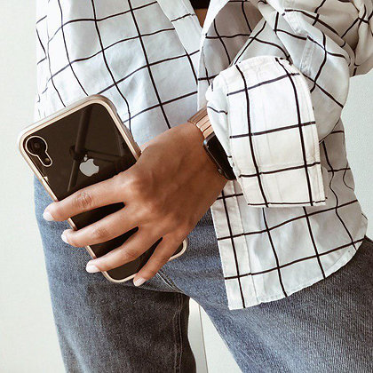Магнитный чехол для iPhone XR, Gold