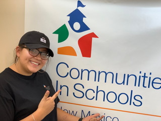 Communities In Schools Summer Intern Heads to College!