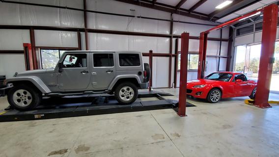 Jeep and Mazda