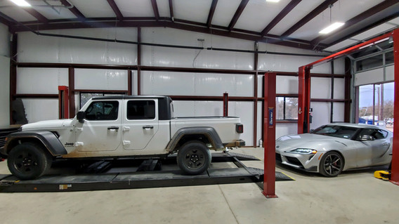 Jeep and Toyota