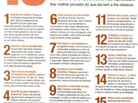 15 Atitudes para Viver MAIS FELIZ!