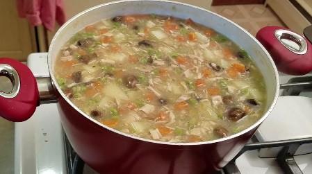 Inspiration Soup with Jakki Gioia          11- 21-18 Chicken Pot Pie Soup