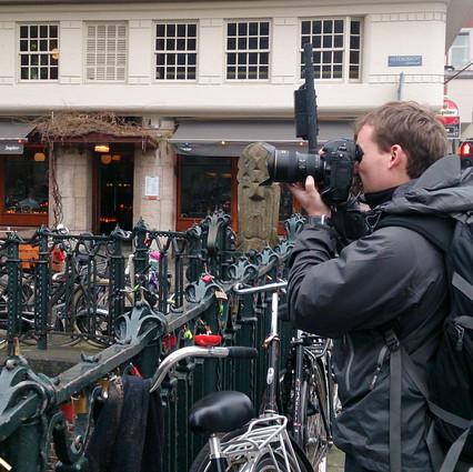 Трэвэл фотосъемки в Амстердаме