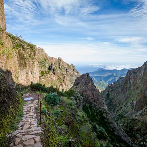 Фотосъемка в горах Мадейры