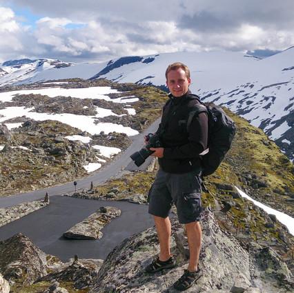 Фото: в горах Норвегии