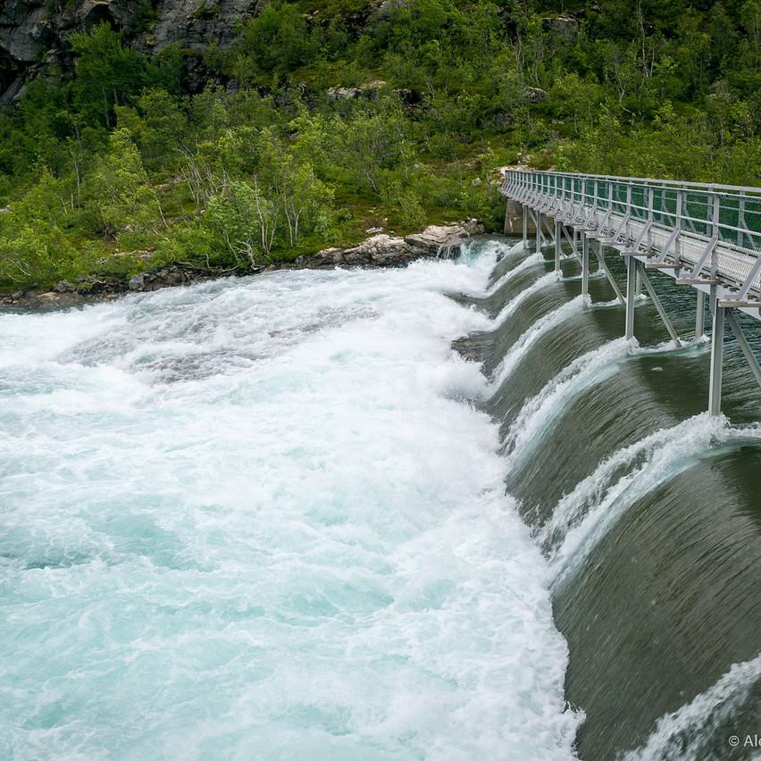 Плотина водопада Кьосфоссен